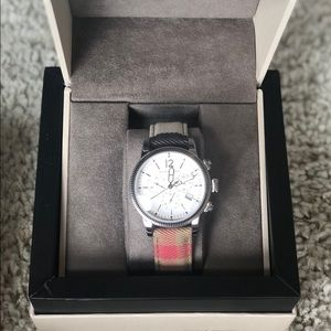 Burberry chronograph women's watch